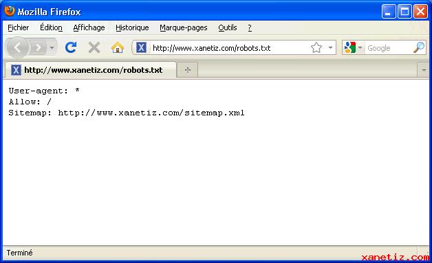Les Fichiers Robots.txt Et Sitemap.xml