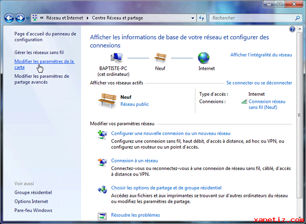 Installer un réseau local avec Windows