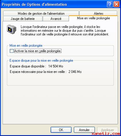 Windows 8. Windows Vista . Windows XP. Linux ... de l'énergie pour garder les informations de veille en mémoire et il peut être plus intéressant d'opter pour la mise en veille prolongée. Cette dernière écrit les informations de veille sur votre dis ...