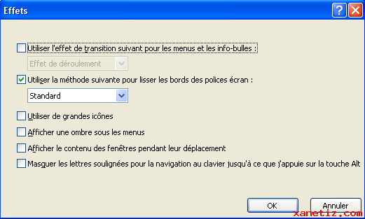 Optimiser l'affichage de Windows