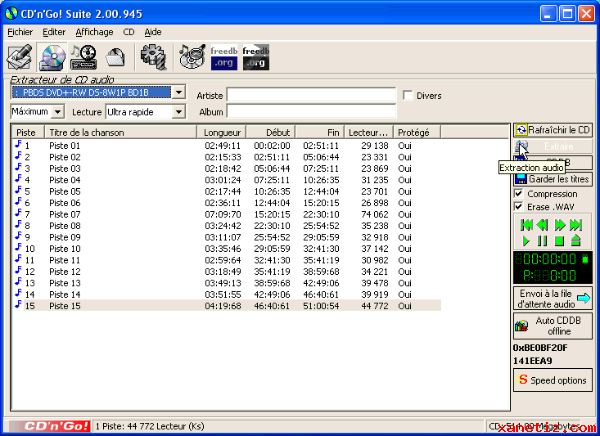 Free cd ripper download. Popular multimedia software, virus free.
